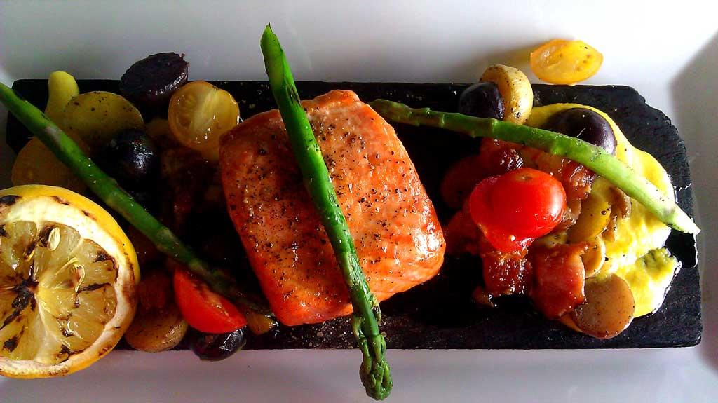 Dusený losos | FoodFest.sk