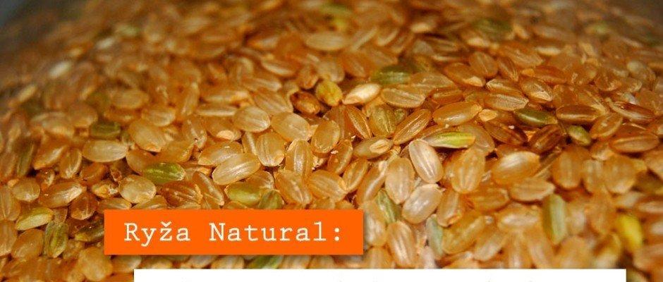 ryža natural pololúpaná