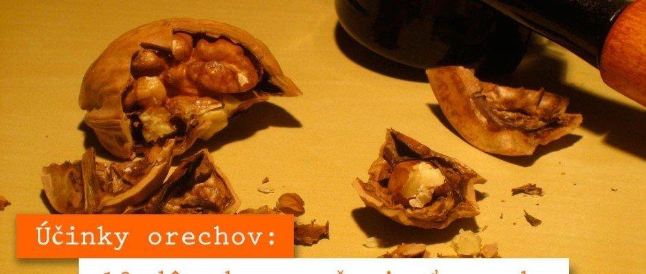 vlašské orechy účinky