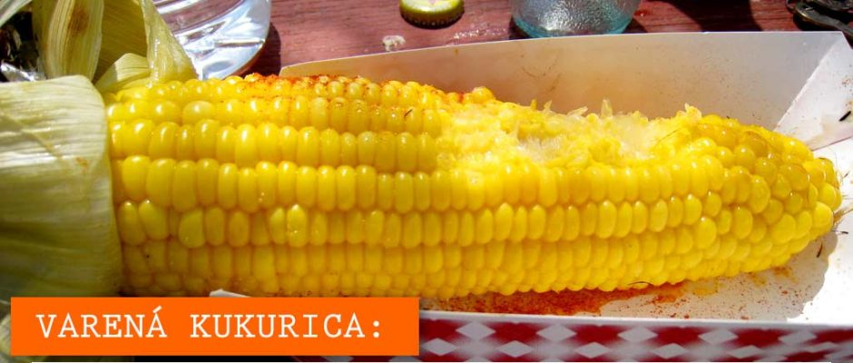 Varená kukurica