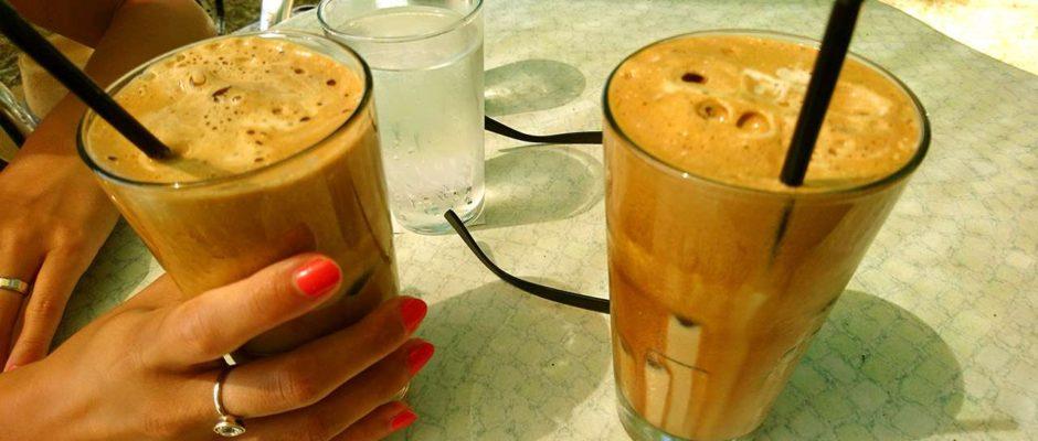 Káva frappe