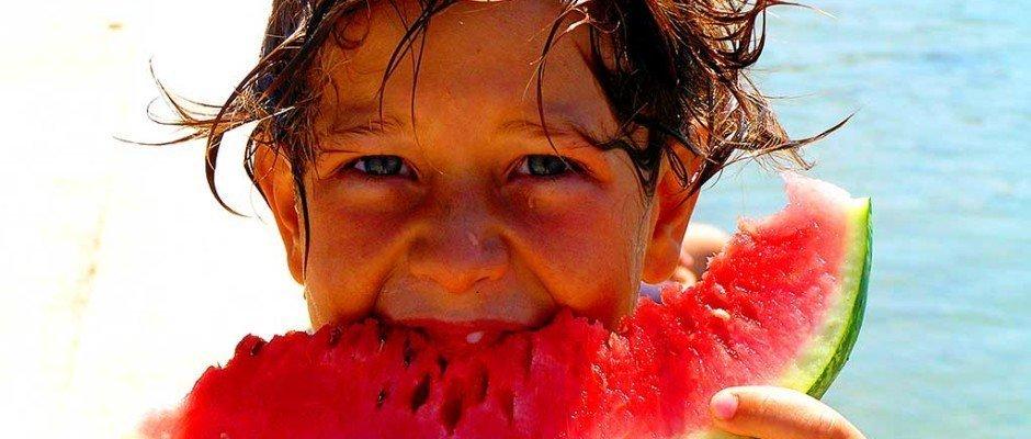 Dieťa je melón