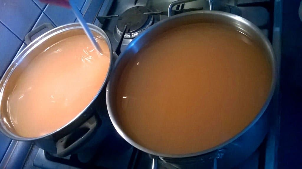 bazový sirup recept od babičky - šťava po lúhovaní