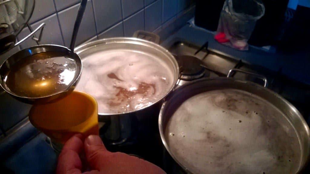 bazový sirup recept od babičky - varenie