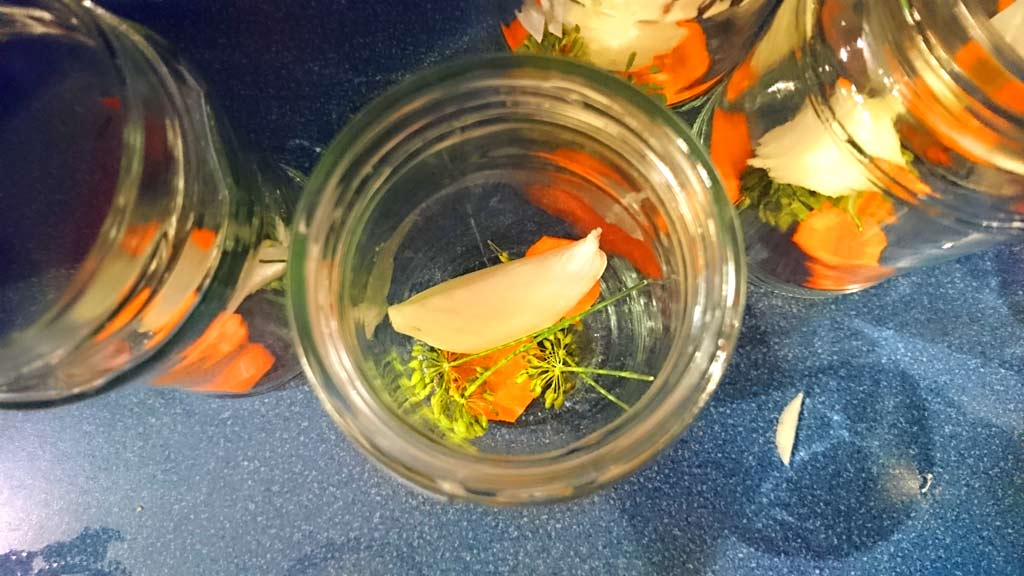 Prísady do zaváraných uhoriek