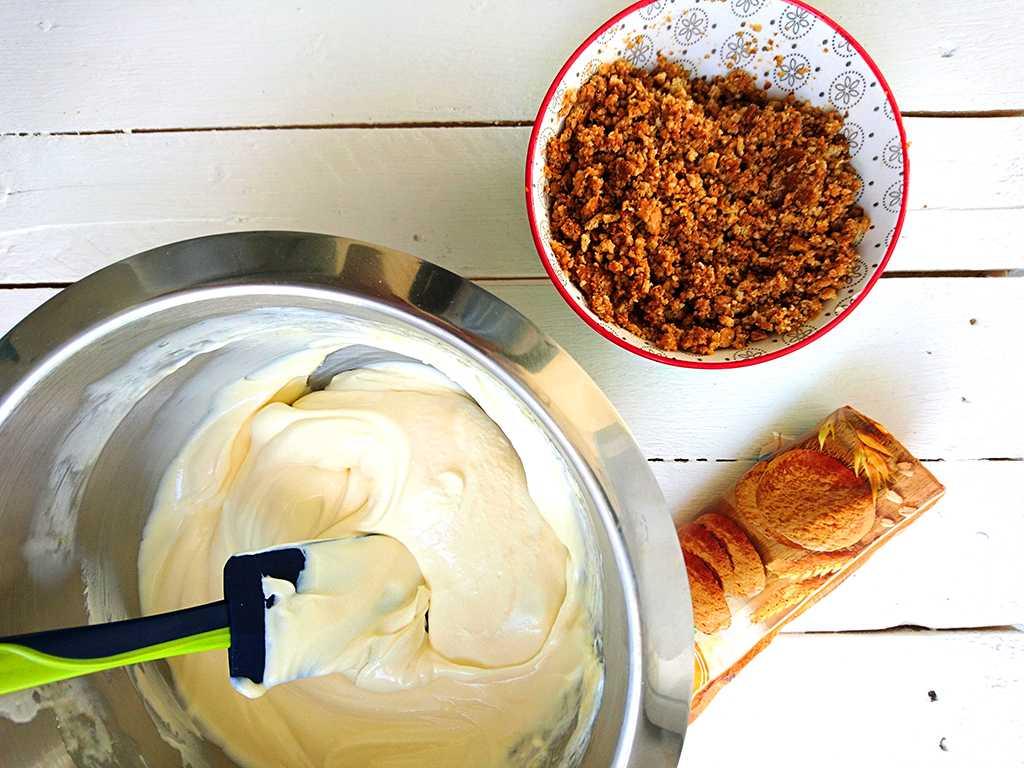 Citrónový cheesecake s mascarpone - príprava