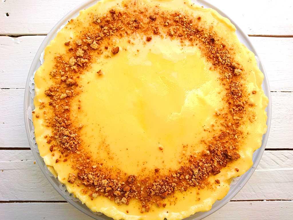 Citrónový cheesecake s mascarpone