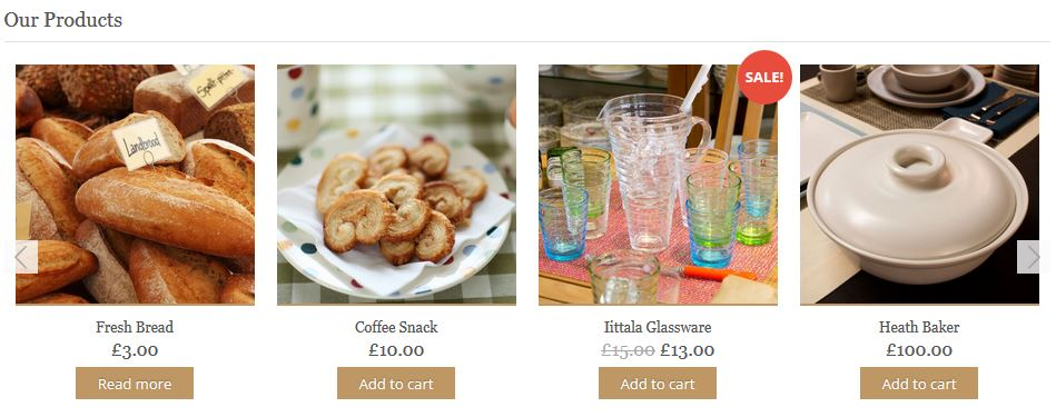 FoodFest.sk e-shop produkty