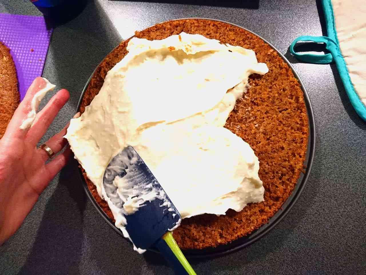 Mrkvová torta - príprava