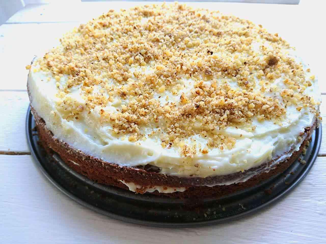 Mrkvová torta koláč