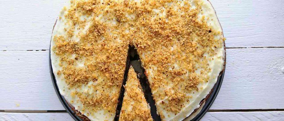 Mrkvová torta na Veľkú noc