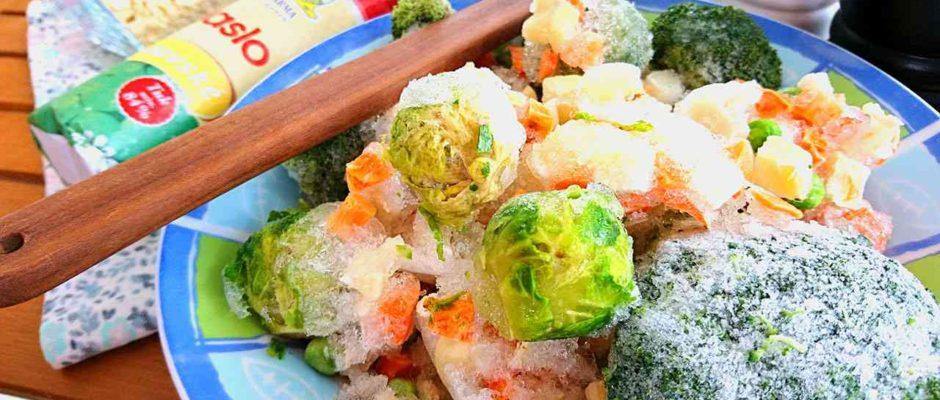 Recept na polievku z mrazenej zeleniny