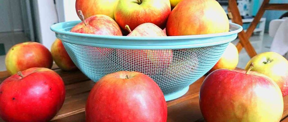 domáce jablká