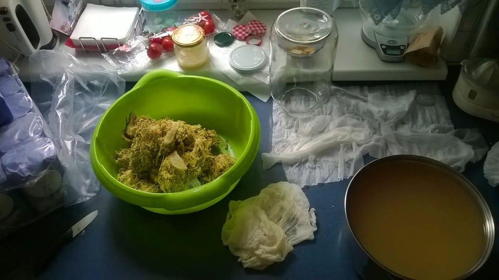 Bazový sirup - príprava