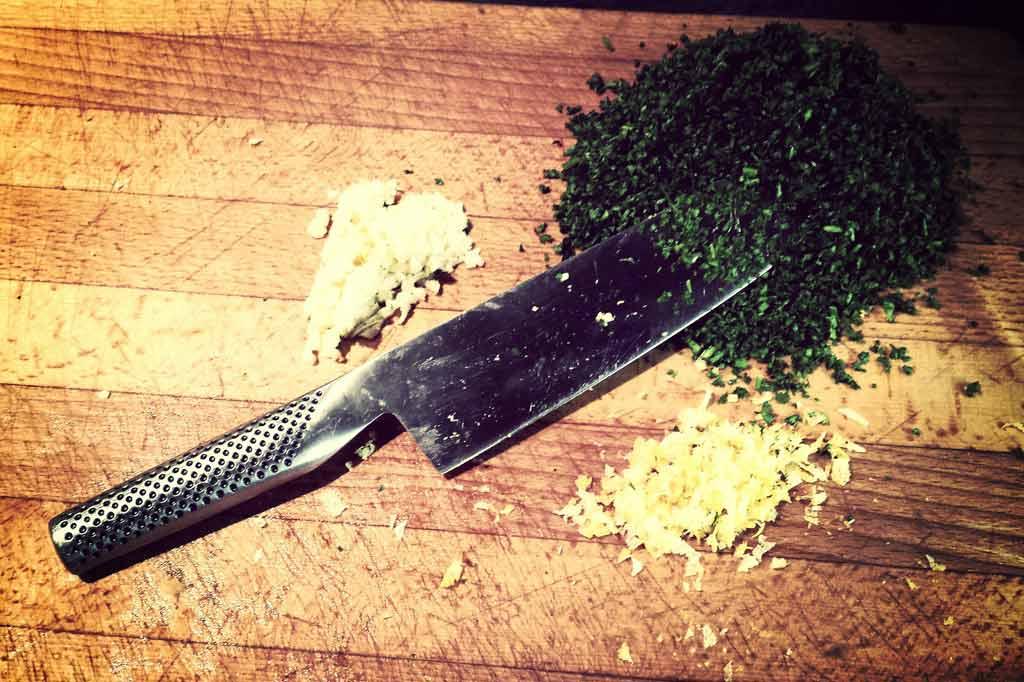 nôž kuchynský