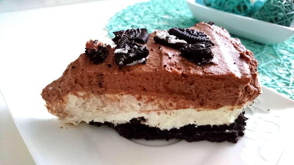 Oreo Torta - kúsok